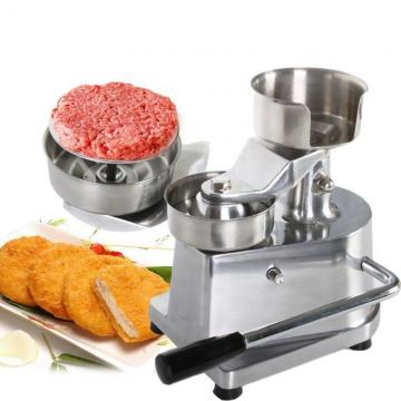 Automatic Electric Burger Patty Hamburger Press Mold Machine