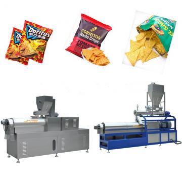 Fully Automatic Doritos Tortilla Corn Chips Process Line Equipment