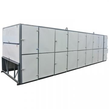 Large Industrial Continuous Tunnel Microwave Dryer
