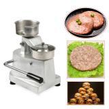 Manual Meat Pie Forming Machine Chicken Burger Making Machine Manual Burger Patty Maker
